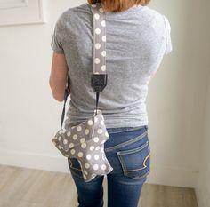Cute Women's DSLR Camera Cozy Bag  Matching Camera by CameraCoats Dslr Camera Bag, Camera Gear, Dots Free, Camera Cover, Polka Dot Fabric, Polka Dots, Photographer Gifts, Camera Straps, Camera Accessories