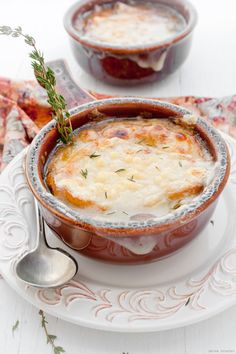 Onion Soup (if making gluten free substitute a gluten free flour)