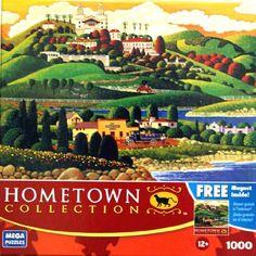 HOMETOWN COLLECTION Castle Drive 1000 Piece Puzzle Mega Puzzles http://www.amazon.com/dp/B003VQ32AK/ref=cm_sw_r_pi_dp_A7mnub057WECF