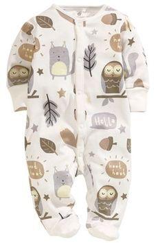 Owl Sleepsuit