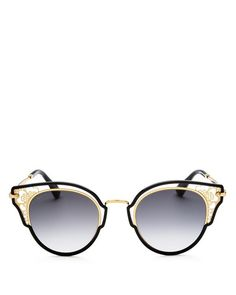 8d9b544a840 Jimmy Choo Dhelia Embellished Cat Eye Sunglasses