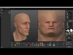 Substance Painter - Smart Skin Material Demo - YouTube Character Sheet, Game Character, Game Textures, 3d Video, Modeling Tips, 3d Tutorial, 3d Face, Anatomy Tutorial, Anatomy Reference