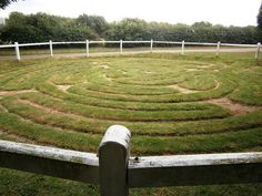 Liberal England: The turf maze at Wing