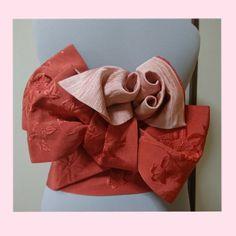 浴衣の帯結び カメリアの結び方 | シフォンのダイアリー - 楽天ブログ