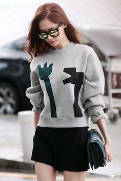 140725 yoona's airport fashion