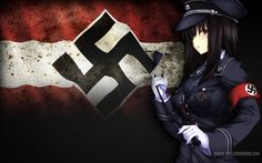 original Part 242 - - Anime Image Ww2 German, German Army, Wwii, Science Fiction, Cool Girl, Baby Car Seats, Funny Pictures, Illustration Art, Darth Vader