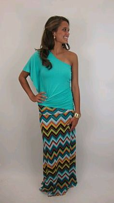 I LOVE this outfit! I'm obsessed with long skirts!!