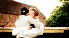 """""""Persuasion"""" (2007) - I love this hug at the end of the movie. ^.^"""