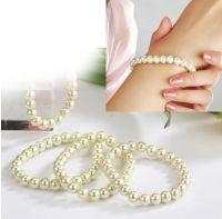 OUTLET - SALG - Ivory armband, med perler, ivory perler, Perlearmband, Perlermband, Ivoty perlearmbånd Ivory