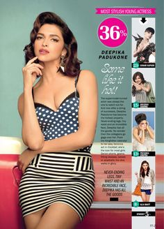 Deepika Padukone's  HQ Pictures From Filmfare Magazine – January 2013.