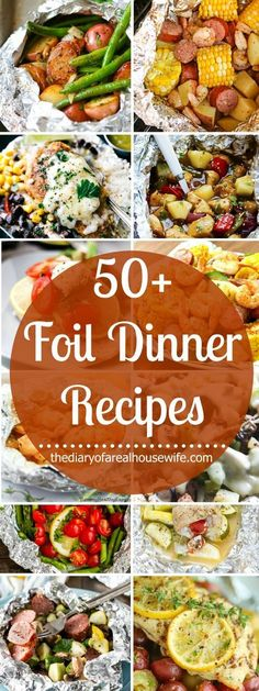 Easy dinners with no clean up! That's my kind of meal! Check out some of my all time favorite foil dinner recipes and give them each a try!