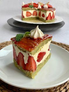 Tarta de fresas Cheesecake, Desserts, Food, Pies, Deserts, Cooking, Strawberry Fruit, French Tips, Tailgate Desserts