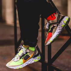 ⚫ Nike react element 87 available for whatsapp/📱 08178532059 Or dm to place order⚫Complete package (box) ⚫National/worldwide delivery ⚫ Payment on delivery within lagos Men's Shoes, Nike Shoes, Sneakers Nike, Hypebeast, Sporty Style, Crazy Shoes, Jordan, Puma, Men's Fashion