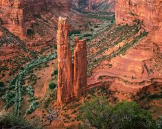 Spider Rock, Canyon de Chelly, Arizona, United States