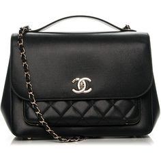 CHANEL Caviar Quilted Large Business Affinity Flap Black ❤ liked on Polyvore featuring bags, handbags, tote purses, handbags totes, leather tote handbags, leather tote purse and chanel tote