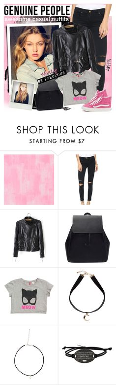 """""""GENUINE PEOPLE - Awesome casual outfits!"""" by anita-n ❤ liked on Polyvore featuring Designers Guild, Monki and Vans"""