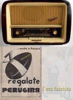 la radio - la cioccolata Perugina