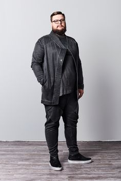 plus size fashion, urban plus size, avant-gard plus size, big men fashion, size positive, style has no limits