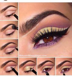Beautiful Cut crease Eye Make Inspiration. Please Like.