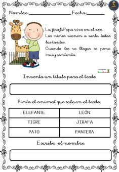 Spanish Lessons For Kids, Spanish Class, Teaching Spanish, Home Schooling, Kids And Parenting, Leo, Kindergarten, Preschool, It Cast