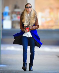 The Olivia Palermo Lookbook : Olivia Palermo In NYC