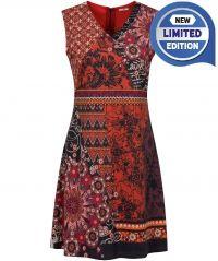 Sassy Suedette Dress