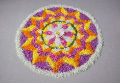 happy new year rangoli Onam floral Rangoli with dots designs 2018 Happy New Year Sms, Happy New Year Quotes, New Year Greeting Cards, New Year Greetings, Onam Greetings, Onam Pookalam Design, New Year Wishes Messages, New Year Rangoli, Happy New Year Love