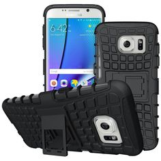 S7 Edge Case / Galaxy S7 Edge Case,DIOS CASE(TM) Heavy Duty Protection Dual Layer 2 in 1 Hybrid Hard Armor Silicone Full Body Rugged Impact Kickstand Case Cover for Samsung Galaxy S7 Edge (Black) * This is an Amazon Affiliate link. You can find out more details at the link of the image.