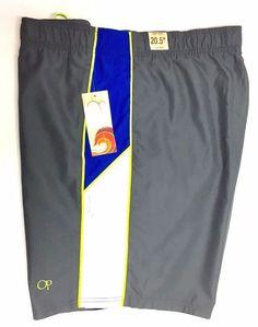 c50513c671 Op Ocean Pacific Men's Swim Trunks Bathing Suit Board Shorts 2xl 44-46 Grey  for sale online | eBay