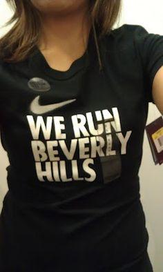 Run, walk, be active...everywhere :) Reppin' Beverly Hills