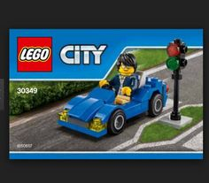 LEGO CITY 30349 Sports Car Creative Learning Building Brand New Free UK Delivery