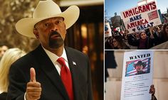 Thousands protest Wisconsin sheriff's anti-immigration plan #DailyMail