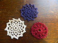 Foothills of the Great Smoky Mountains: Spool Pin #Doily Pattern