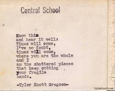 Typewriter Series #224 by Tyler Knott Gregson