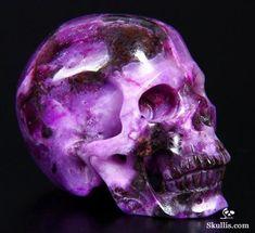 Sugilite Crystal Skull