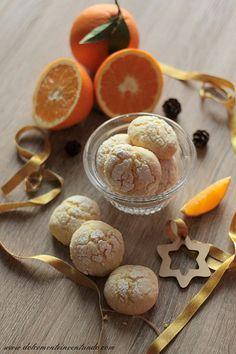 Dolcemente Inventando : Crinkle cookies all'arancia di Valentina