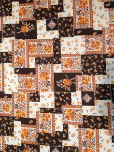Beautiful Vintage Fabric by KoopsKountryKalico on Etsy, $7.99