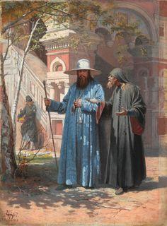 Патриарх Никон в Новом Иерусалиме