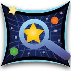 Aplikacja Sky Map prezentuje obraz nieba i wszystkich znajdujących się na nim ciał niebieskich. Możemy przewijać palcem  mapę i oglądać układ gwiazd.