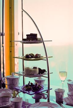 I was lucky enough to experience afternoon champagne tea in the most exquisite place in the world. The 7* hotel, the Burj al Arab in Dubai.