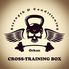 New Logo for my Garage Gym. by iamorkan Strength Training Women, Strength Training Program, Cross Training Workouts, Training Quotes, Garage Gym, Alphabet Video, Half Marathon Training Plan, Gym Logo, Muscle Building Supplements