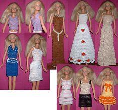 Ravelry: book 17 fashion doll crochet 6 pattern by Lynne Sears