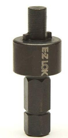 1//4-20 Internal Threads Pack of 50 E-Z Lok Threaded Insert Zinc Hex-Flanged Fоur Paсk 25mm Length
