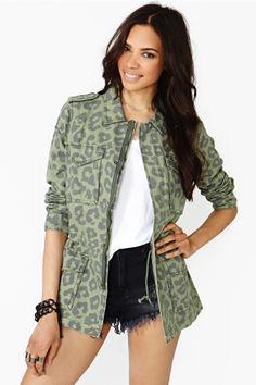 Jungle chaqueta del ejército