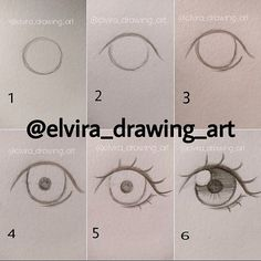 Manga Drawing Techniques How to draw anime eyes - Drawing Techniques, Drawing Tips, Drawing Sketches, Pencil Drawings, Drawing Art, Drawing Reference, Drawing Ideas, Sketching, Figure Drawing