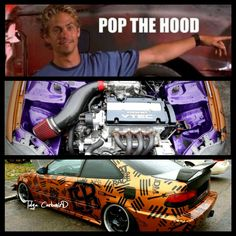Honda Civic EJ8 H22 Eat Sleep Race Paul Walker Meme Pop Hood JDM Germany Tuning CarbonizD