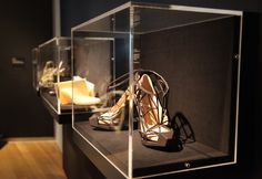 Lucite Lux® cases on display at @Museum of Arts and Design OUT OF HAND exhibit.