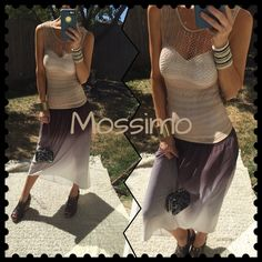 ✔️Check✔️ Mossimo high low ombré skirt, check✔️, looking fabulous ✔️, yes please!. Love these I have every color, this one isn't perfect needs cleaning as a little dirty but nothing damaging. So will drop price✔️ listed high for low shipping when price drop. Mossimo Supply Co Dresses