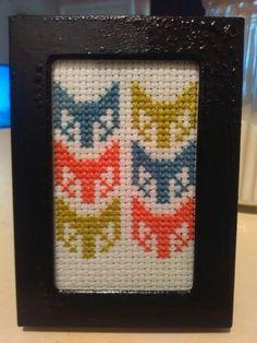 Small Fox Cross Stitch