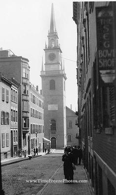 old north church - boston - #scenesofnewengland #soNE #soMAhistory #soMA #Massachusetts #MA #history